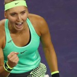 Vesnina crece en Indian Wells